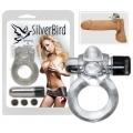 Silver Bird vibrációs péniszgyűrű